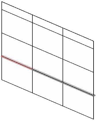 Mullion model