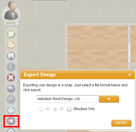 Export to Revit