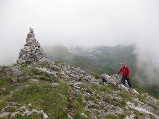 Robert on Schmalstöckli summit