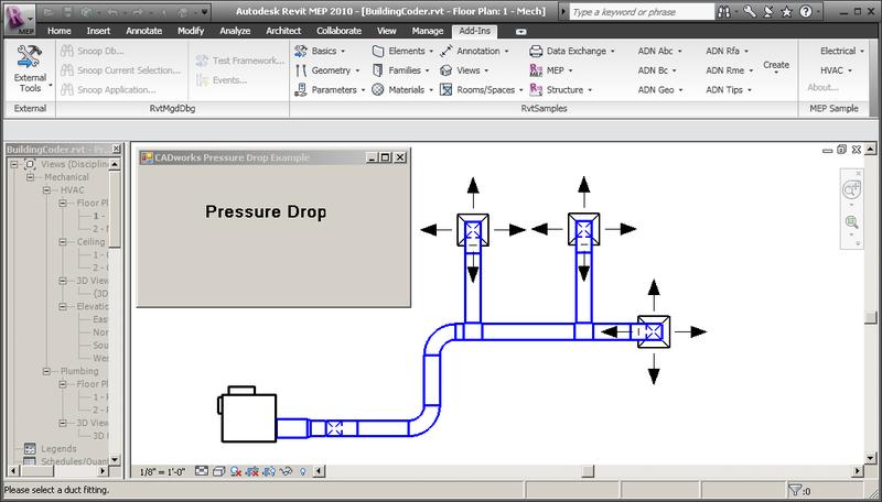 Pressure drop tool