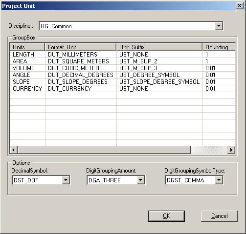 Revit SDK sample ProjectUnit