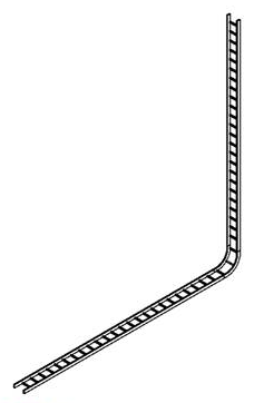 Cable tray connected