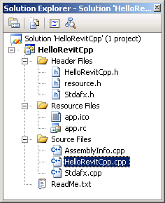 New C++ project files