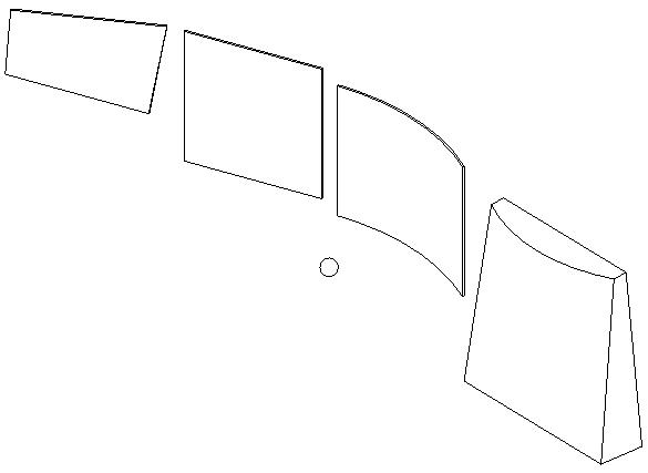 DistanceToSurfaces sample model