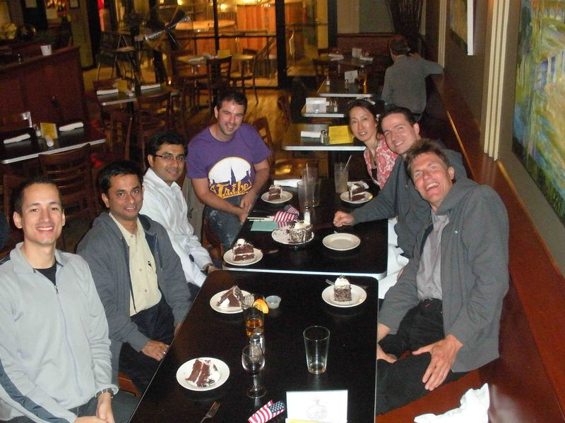 Saikat's birthday party