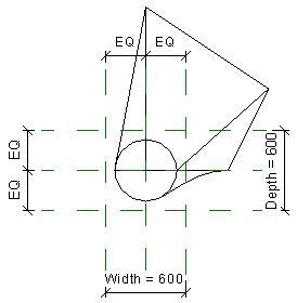 New blend element plan view