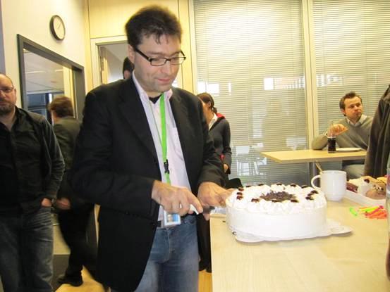Carlo's birthday cake