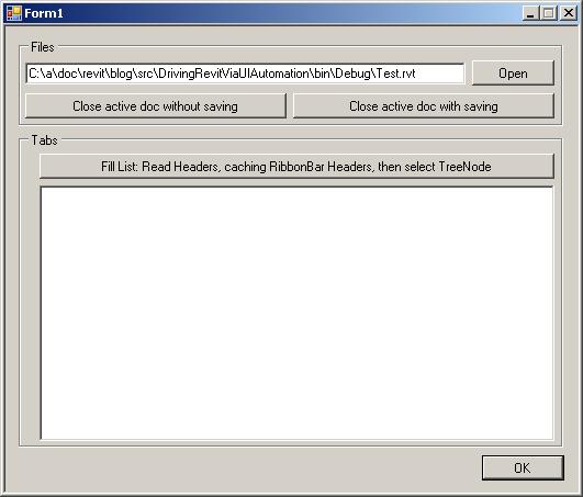 UI automation sample application