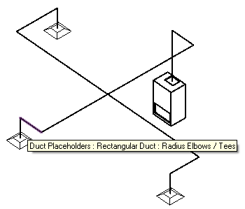 MEP placeholder elements form a complete system