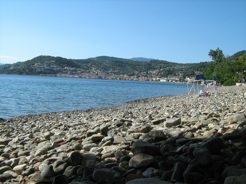 Limni and its beach