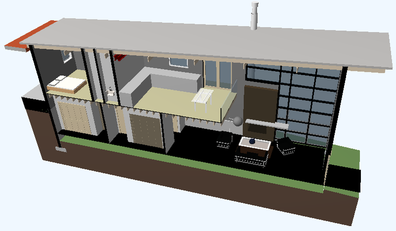 Section view model