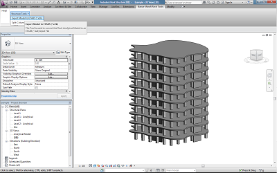 Revit sample model