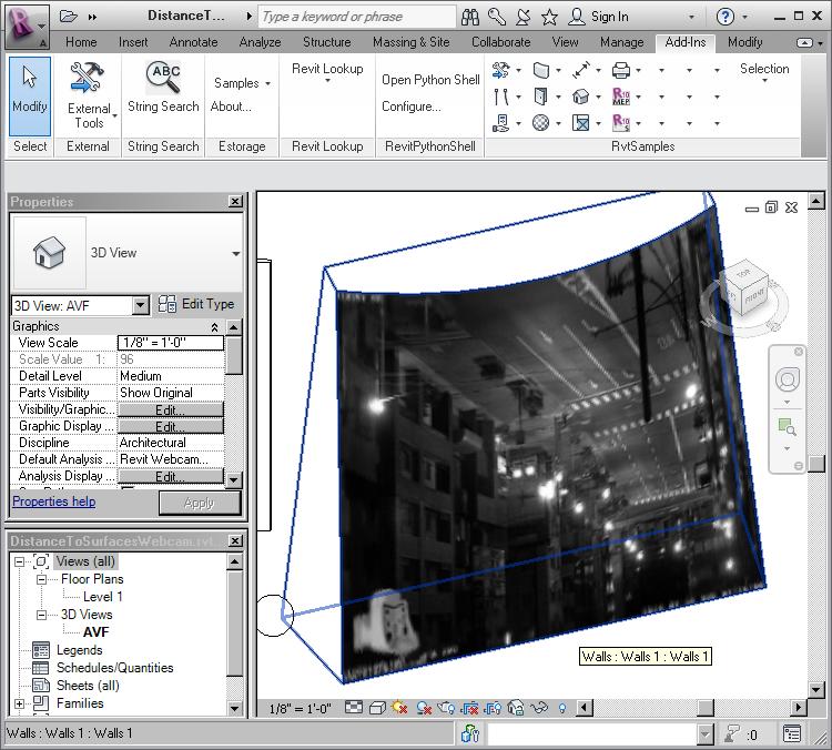 RevitWebcam in Revit 2012