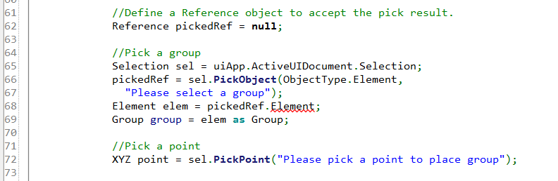 Update Element property to GetElement method