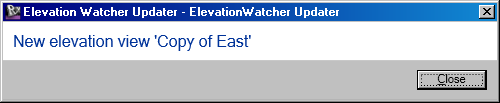 ElevationWatcher using DMU