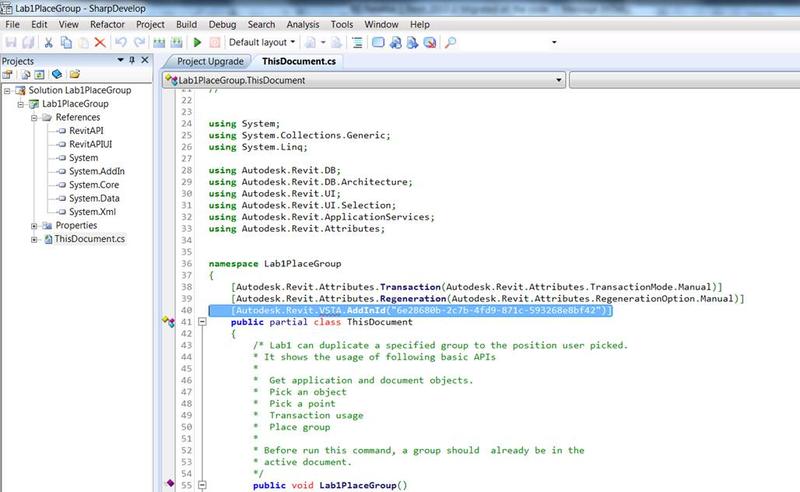 Remove VSTA add-in id
