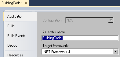 Set .NET Framework version