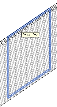 Wall layers and divided parts