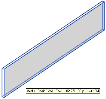 Wall to divide into parts