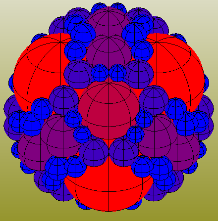 The Building Coder: Apollonian Sphere Packing via Web