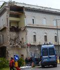 Collapsed palazzo in Riviera di Chiaia