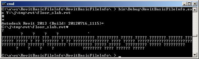 Basic File Info