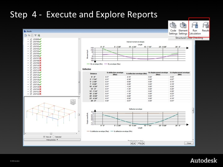 Step 4 – execute and explore reports