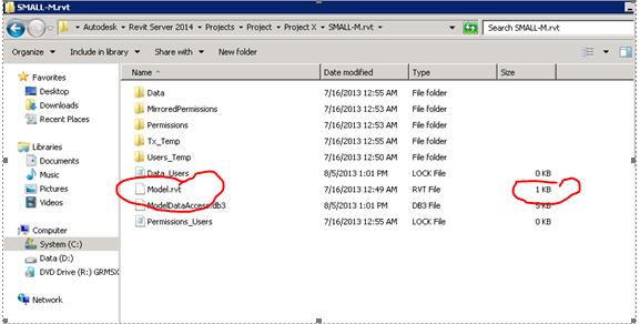 Miniscule RVT file
