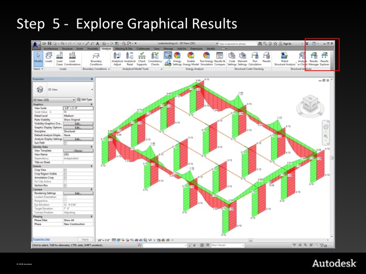 Step 5 – explore graphical results
