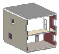 Sample model 3D cut