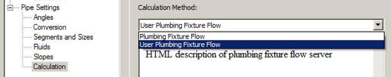 User plumbing fixture flow