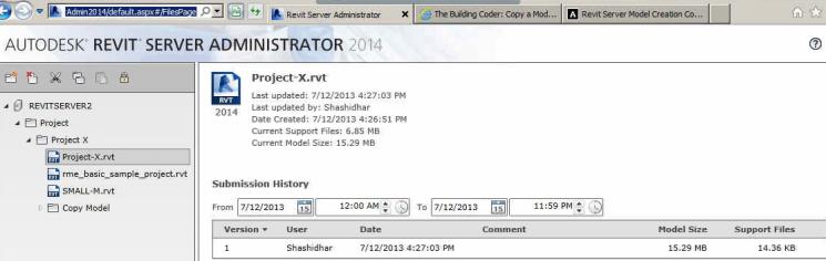 The Building Coder: Revit Server API Access and VBScript