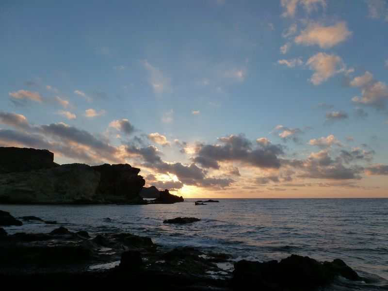 Sunrise at Cabo de Gata