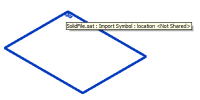 SAT file import extents