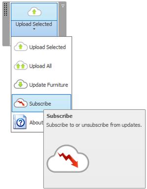 Room editor add-in user interface in Revit 2014