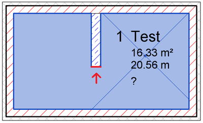 Boundary segment lacking Element