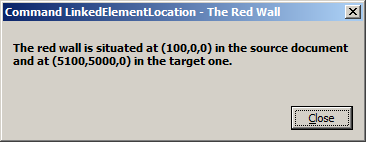 Red wall location in target document B