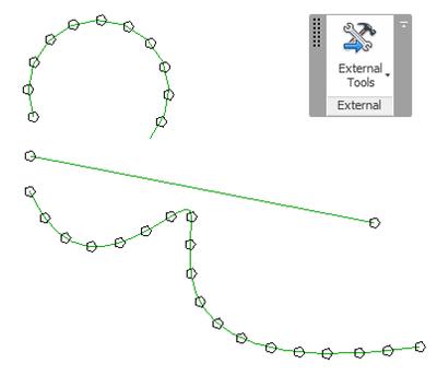 Equi-distant points along spline curve