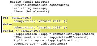 Compiler pragmas