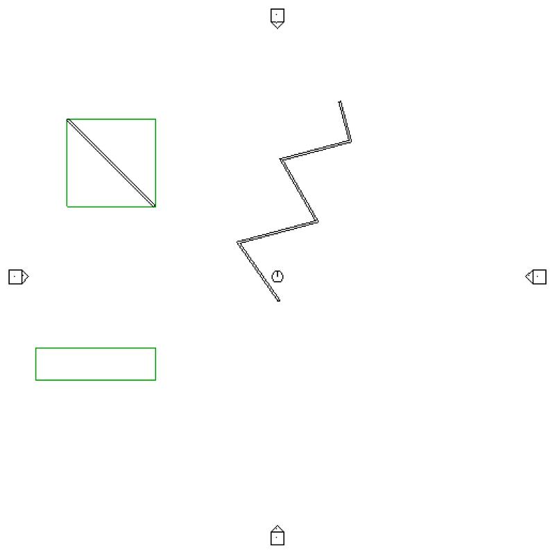 Original and rotated bounding box