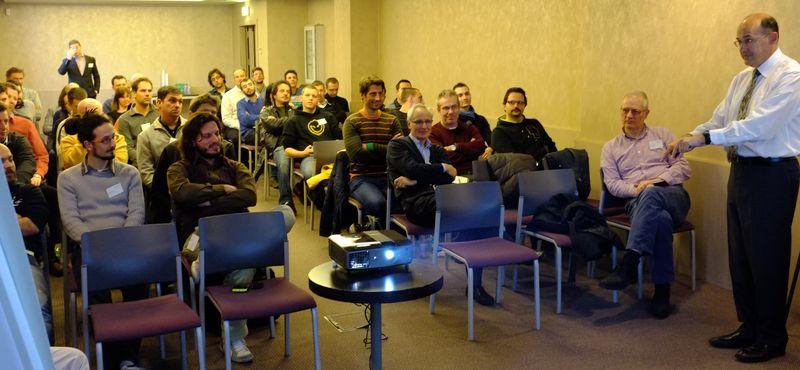 Jim Quanci at the ADN DevDays Conference in Milano