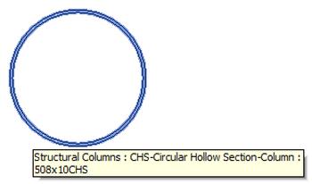 Hollow column