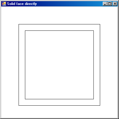 Cross section geometry snooping