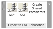 Export to CNC fabrication add-in