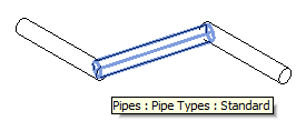 New rolling offset pipe segment