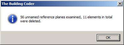 Delete unused reference planes
