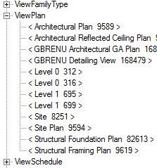 ViewPlan instances in RevitLookup