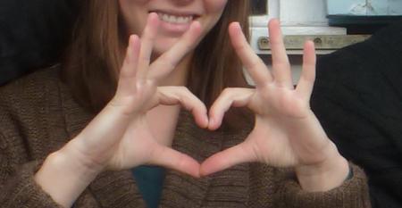 A heart of hands