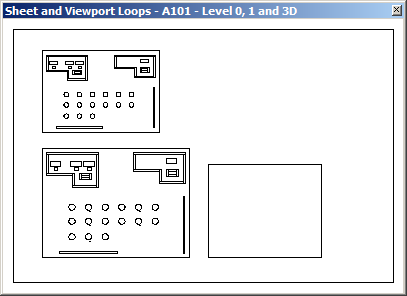 Windows preview of sheet, views and BIM elements