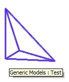 DirectShape tetrahedron